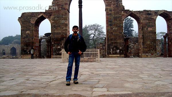 @-Qutub Minar