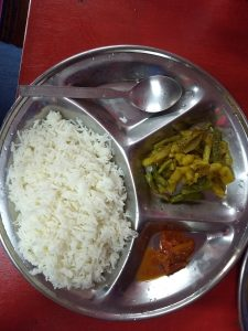 Nathu La - Local food