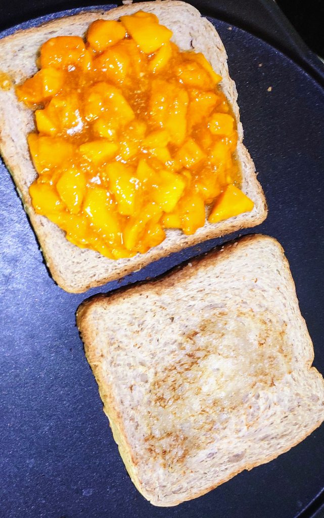 Mango Bread Sandwich